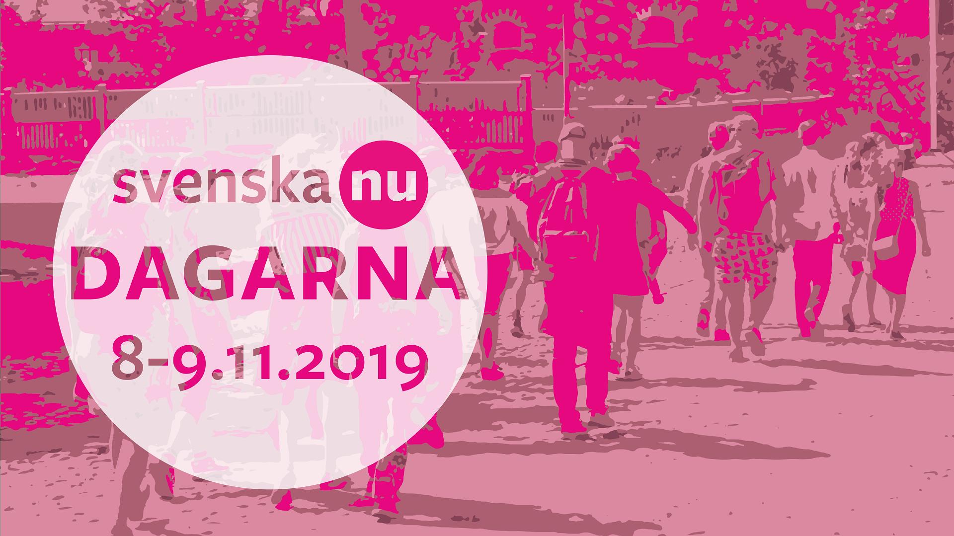 Svenska nu - dagarna 8-9-2019