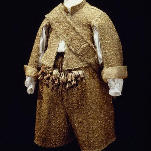 Karl X Gustavs kröningsdräkt från 1654